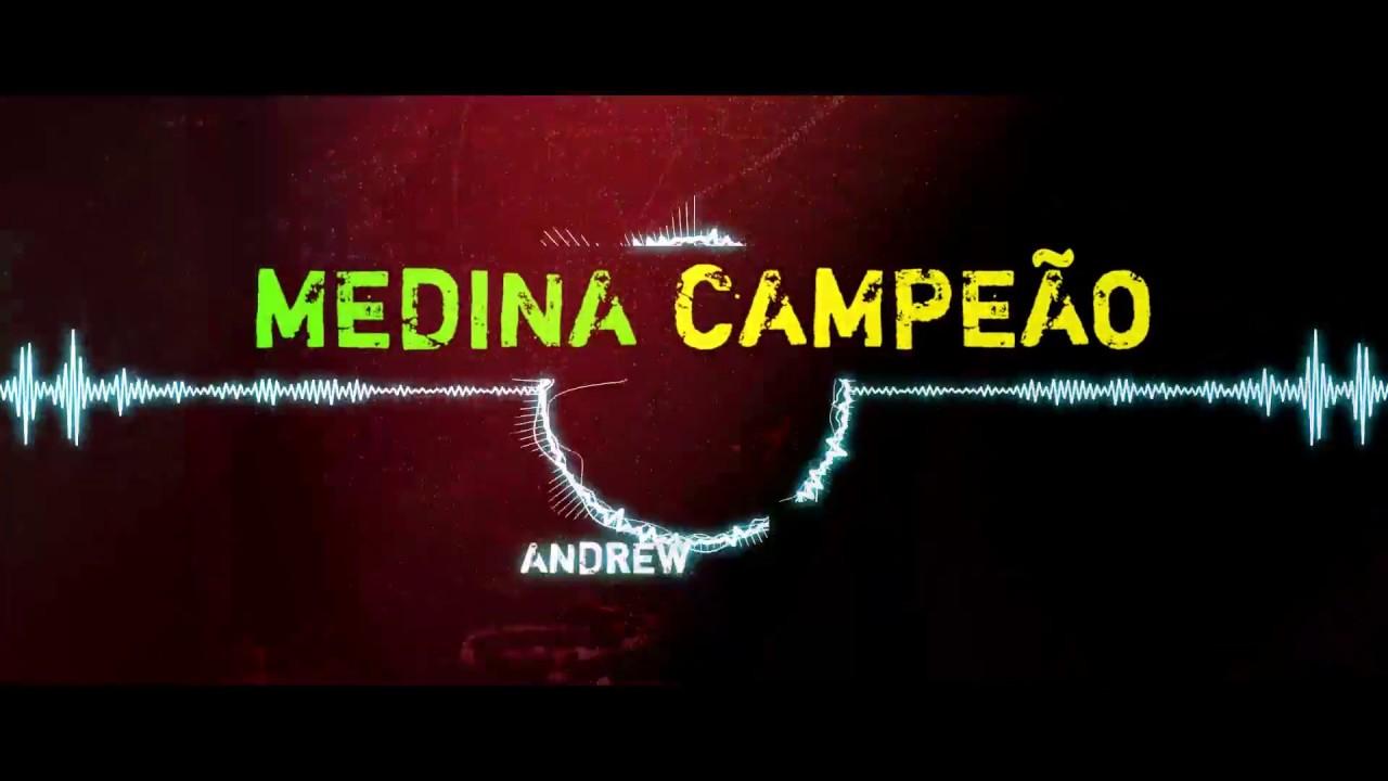 Andrew L.A. - Música Medina Campeão Surf Rock Brasileiro (Lyric Vídeo)