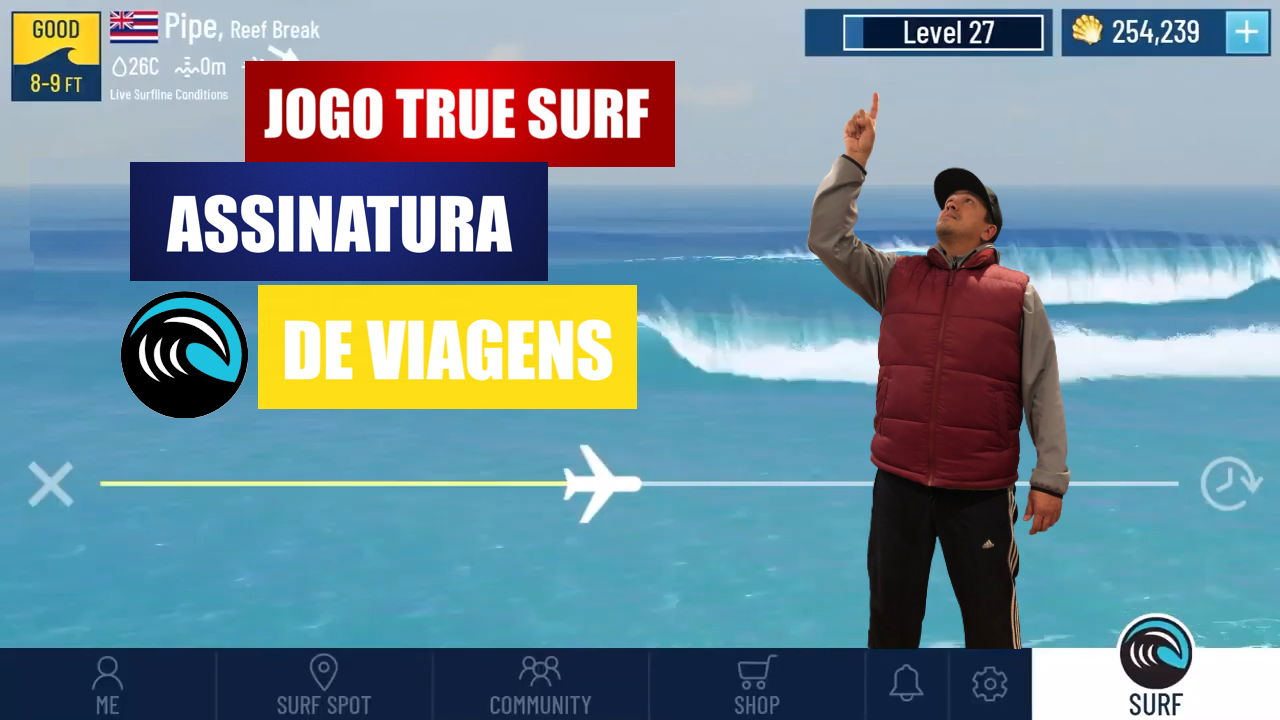 JOGO TRUE SURF WSL